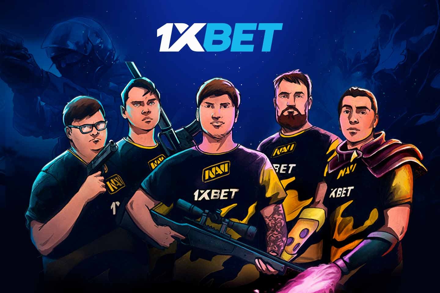 1xBet and Natus Vincere Bring