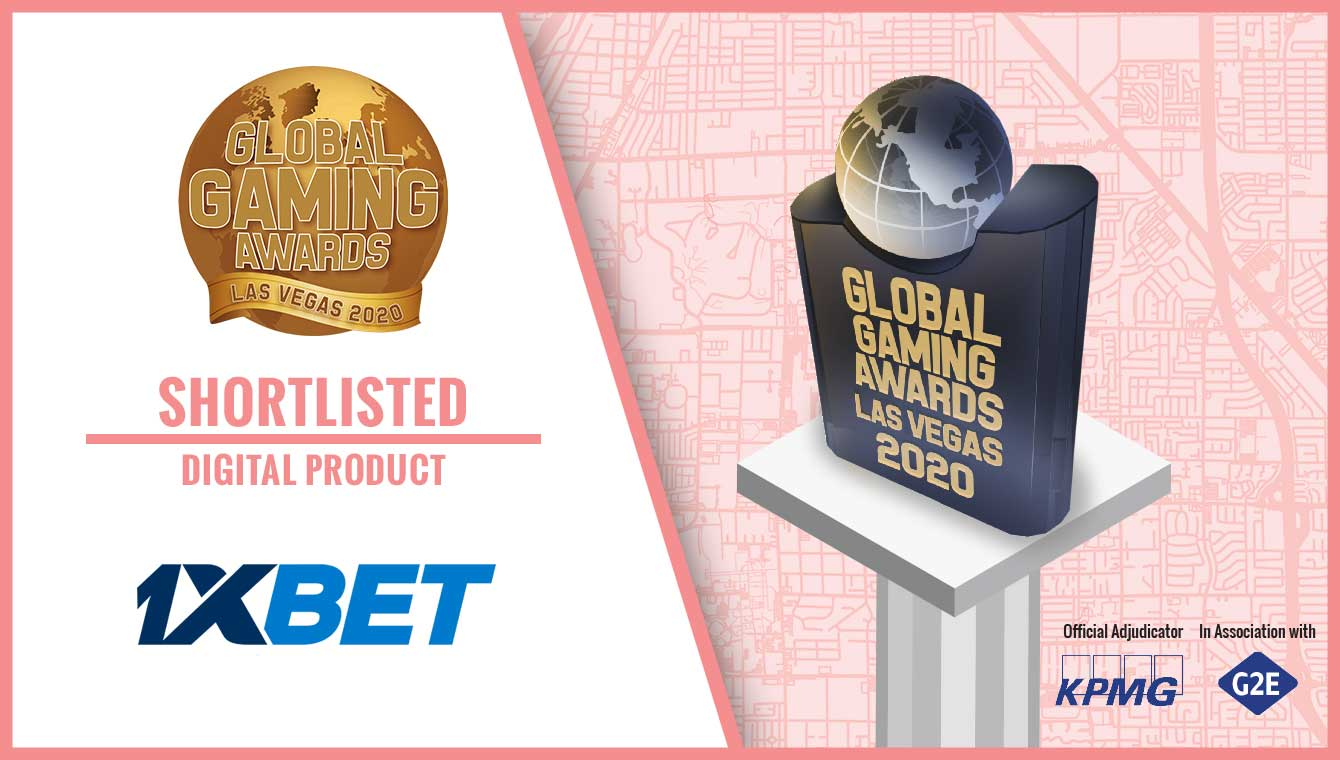 1xBet nominated for a prestigious Global Gaming Award