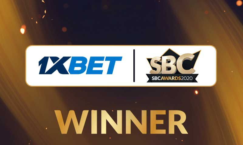 1xBet Victorious At The SBC Awards 2020
