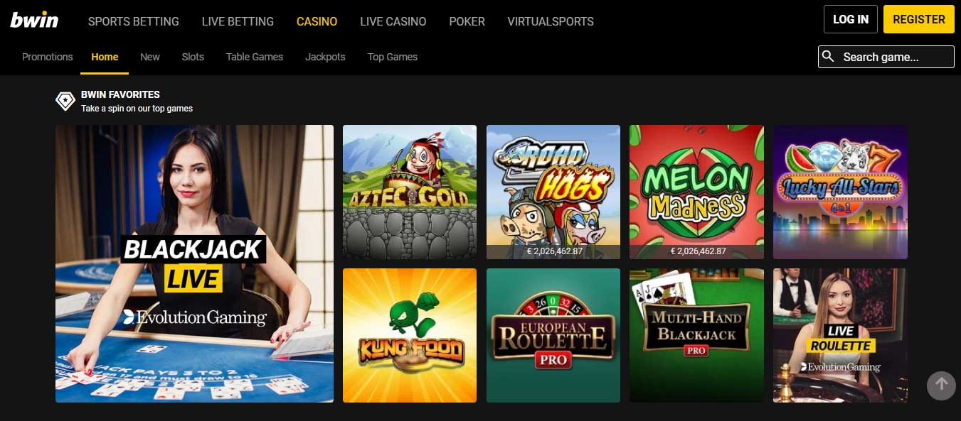 Bwin Casino - Review