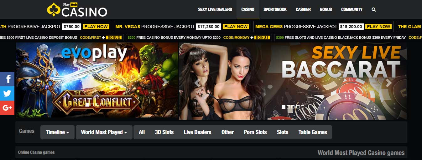 Casino - All the erotic live games